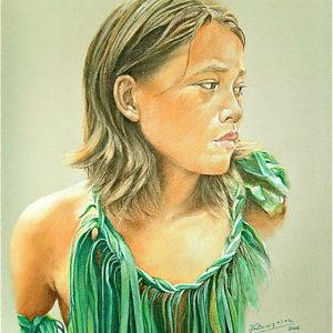 Jeune danseur marquisien