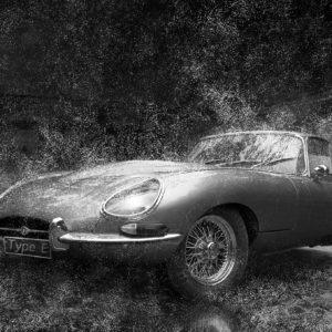 BELLE ET TYPÉE (Jaguar type E)
