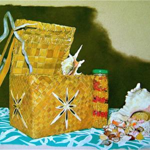 Panie e pupu (panier et coquillages)
