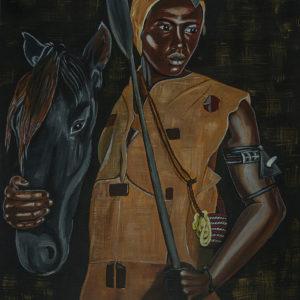 Jeune homme au cheval