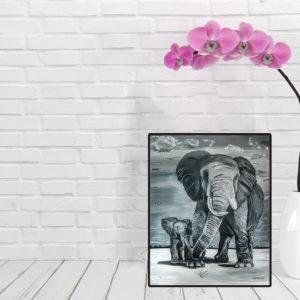Mockup-Les éléphants-Reproductions